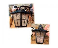 鍛鐵戶外吊燈-T013(戶外壁燈.走廊陽台燈.防水燈.庭院燈.門前等.壁燈.與IKEA風格相似)