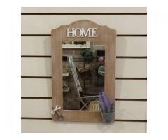 Bunny House~HOME鄉村掛鏡96-30902041(薰衣草.壁鏡.化妝鏡.玄關鏡.日式鄉村雜貨.入厝禮品)